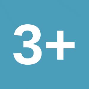 Meer dan drie