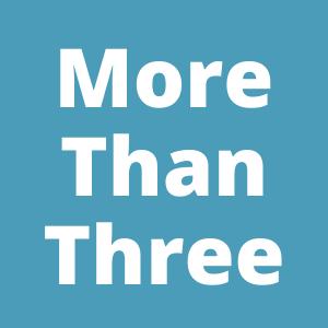 तीन से अधिक