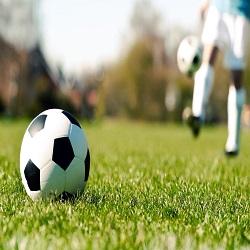 Un meci de fotbal